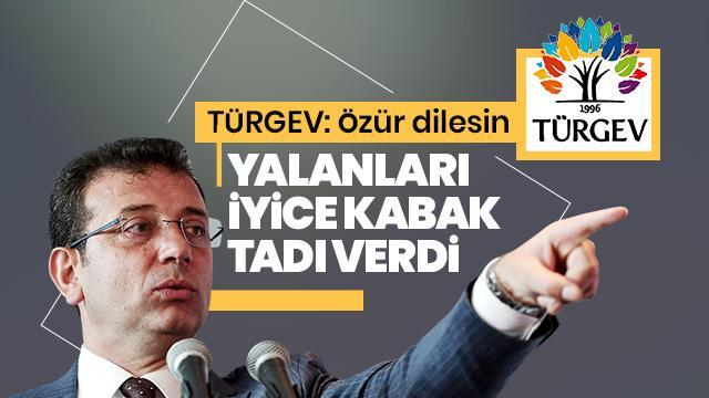 TÜRGEV'den CHP adayının açıklamalarına tepki!