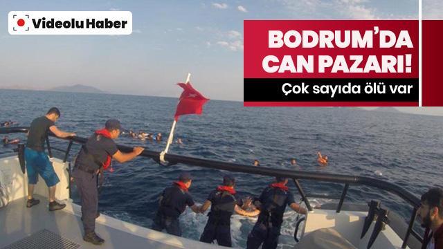 Bodrum'da tekne battı: Ölü ve kayıplar var