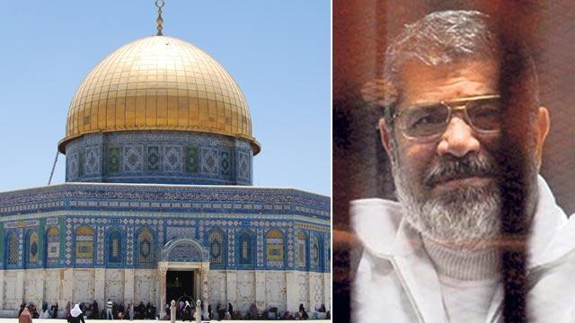Mescid-i Aksa'da Mursi için gıyabi cenaze namazı