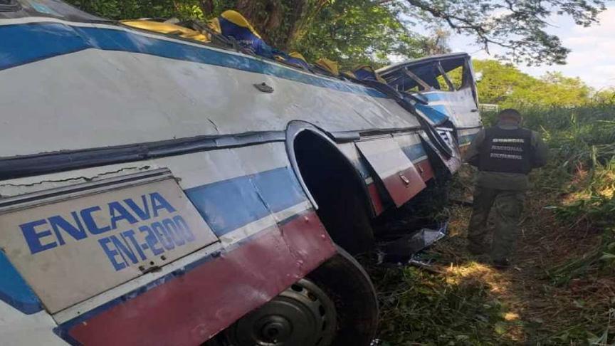 Venezuela'da katliam gibi kaza: 18 ölü