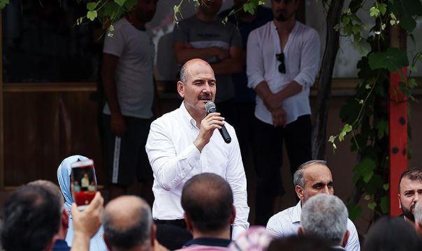 Bakan Soylu İstanbul'a gelecek turist sayısını ele alırken, ABD'nin S-400 tutumuna değindi