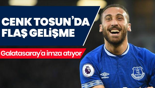 Cenk Tosun Galatasaray'a geliyor