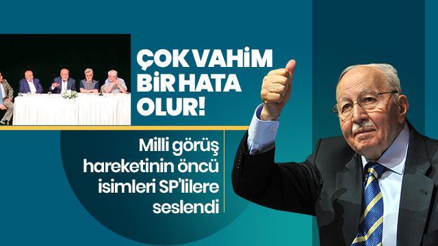 CHP adayına destek vahim hata