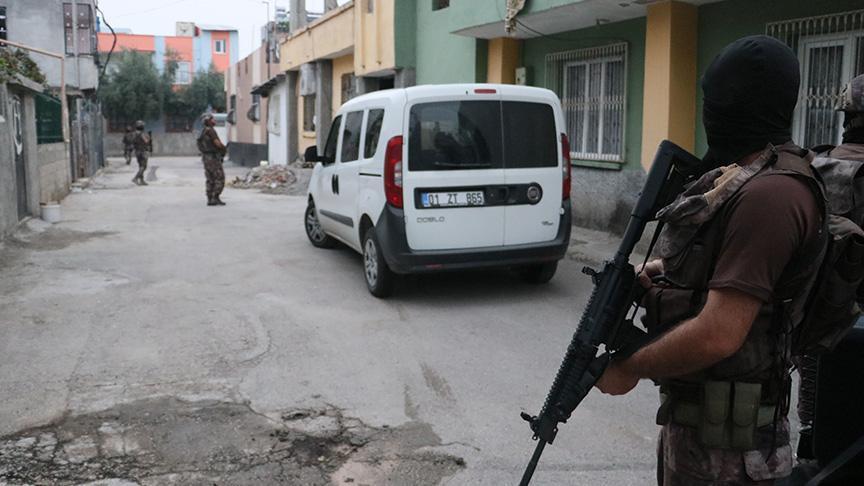 Son Dakika... Adana'da merkezli 4 ilde terör operasyonu