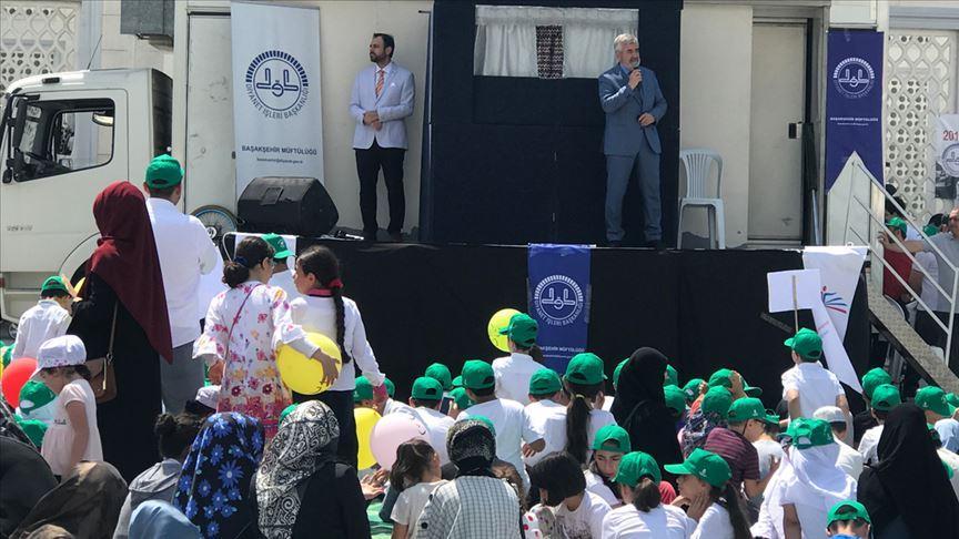 İstanbul'da yaz Kur'an kursları başladı