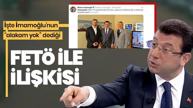 FETÖ yanıtının ardından Ekrem İmamoğlu'nun eski tweetleri sosyal medyanın dilinde