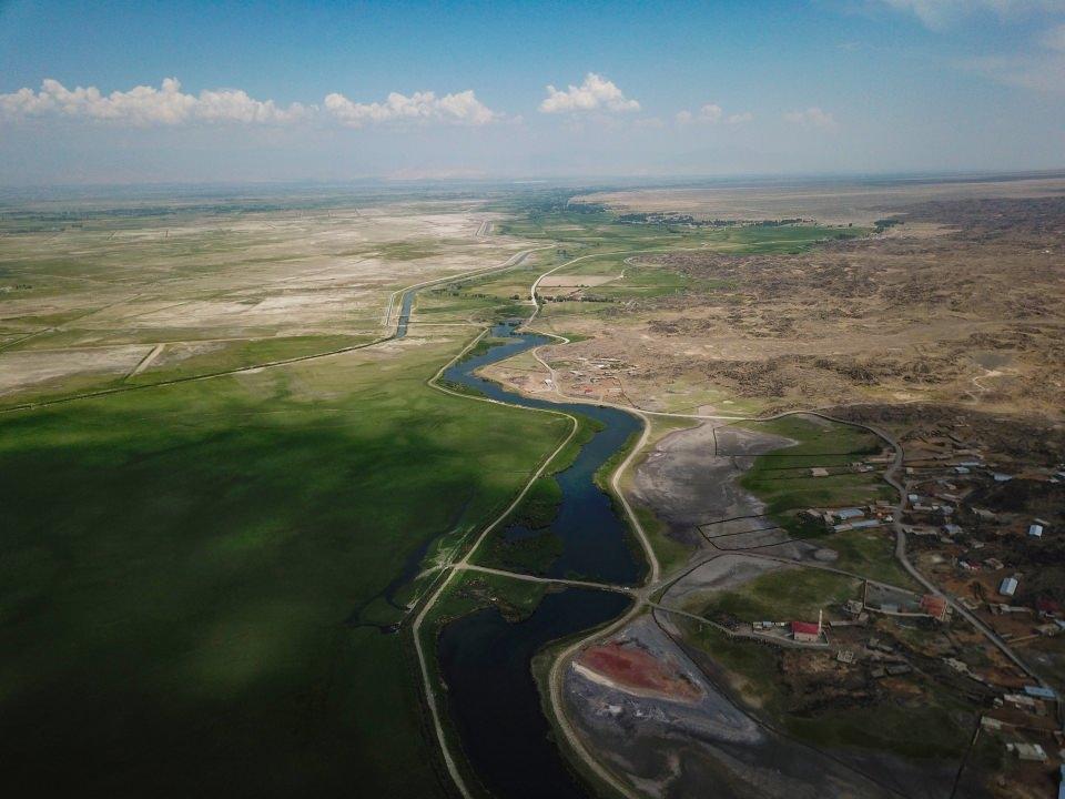 Ağrı Dağı Milli Parkı su altı güzellikleriyle cezbediyor