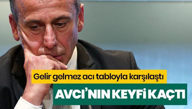 Abdullah Avcı Beşiktaş'a gelir gelmez acı tabloyla karşılaştı