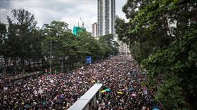 Hong Kong Özel İdari Bölgesi Başyöneticisi Carrie Lam: Hong Kong'da tartışmalı tasarı gündeme gelmeyecek