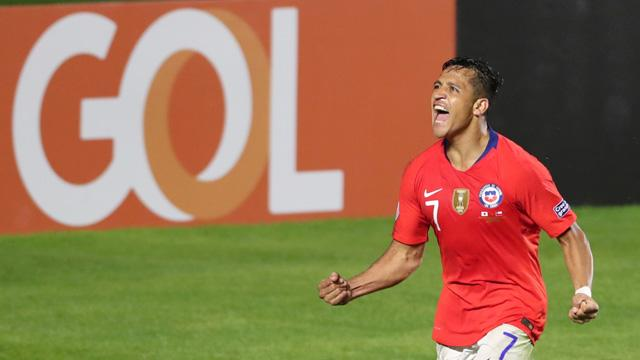 Copa America'da Şili, Japonya'yı 4-0 mağlup etti