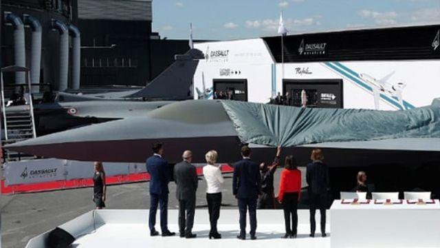 5. nesil savaş uçağı NGF yüzünü gösterdi! 'Gizli füze' taşıyacak