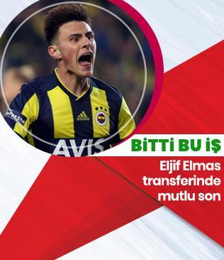 Atletico Madrid, Eljif Elmas transferi için Fenerbahçe ile anlaştı
