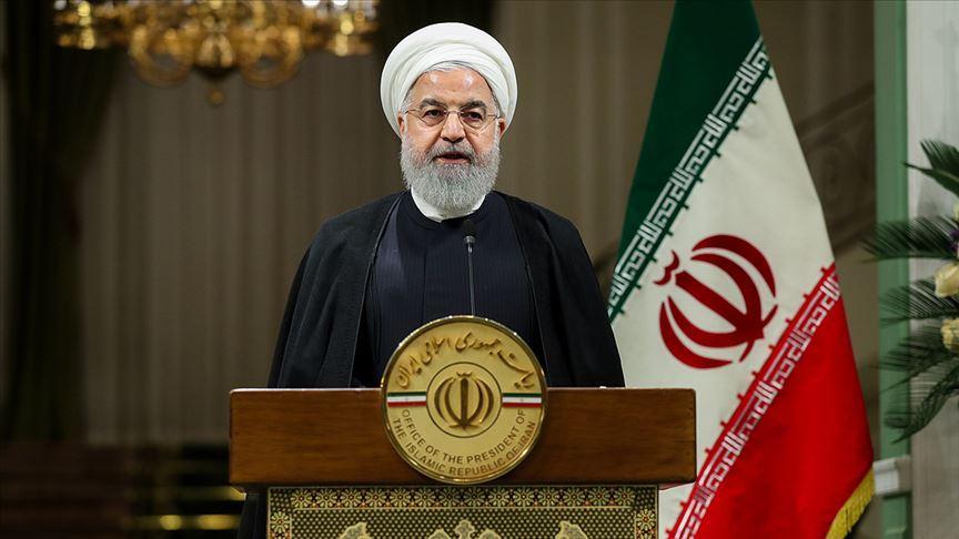 İran Cumhurbaşkanı Ruhani: İran'a karşı yürütülen bir irade ve ümit kırma savaşıdır