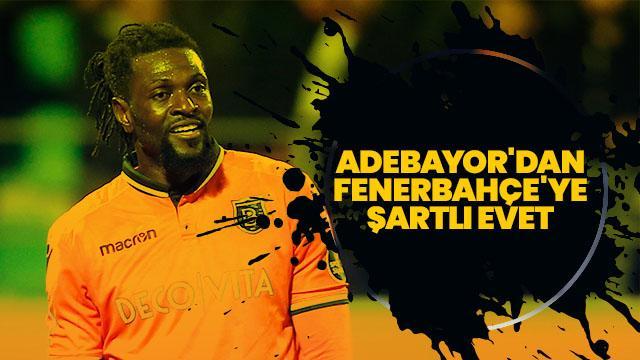 Adebayor, Fenerbahçe'den garanti ücret talep etti