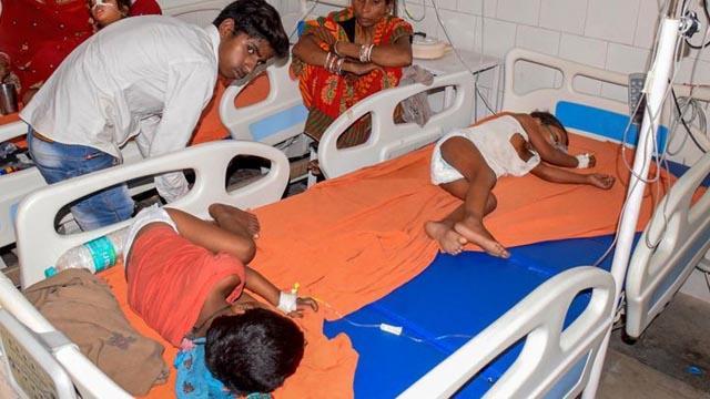 Hindistan'da beyin iltihabı salgını nedeniyle 114 çocuk hayatını kaybetti