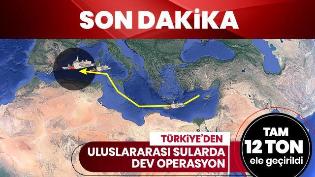 Türk polisinden büyük başarı! 12 ton esrar ele geçirildi