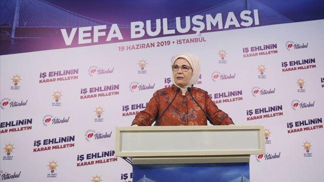 Emine Erdoğan: Türkiye'ye tüm dünyanın ihtiyacı var
