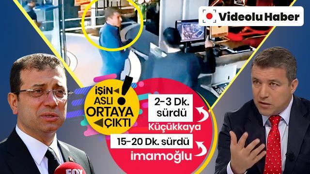 CHP adayının büyük yalanı! İmamoğlu ve Küçükkaya'nın 46 dakika görüştüğü ortaya çıktı