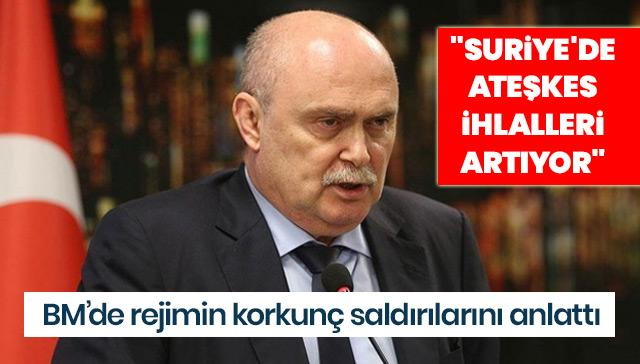 """""""Suriye'de ateşkes ihlalleri artıyor"""""""