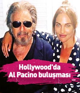 Hollywood'da Al Pacino buluşması