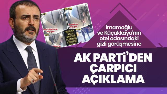Oteldeki görüşme için AK Parti'den çarpıcı açıklama