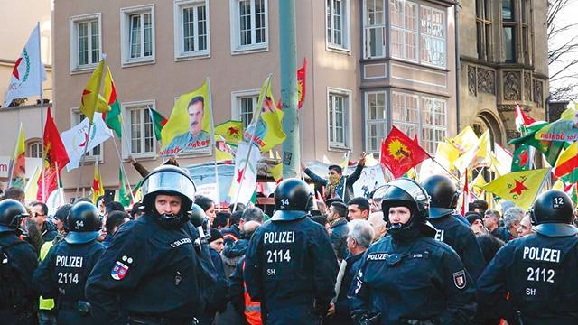 PKK'ya 5 ülkedeoperasyon