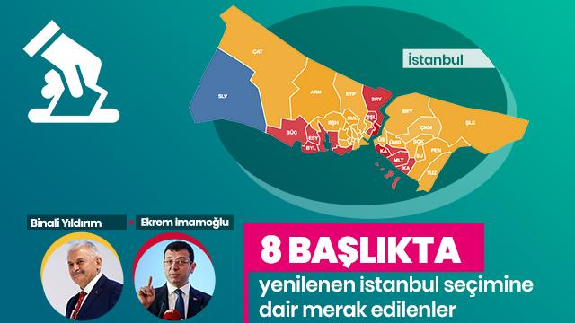 İşte yenilenecek İstanbul seçimi hakkında merak edilen 8 başlık
