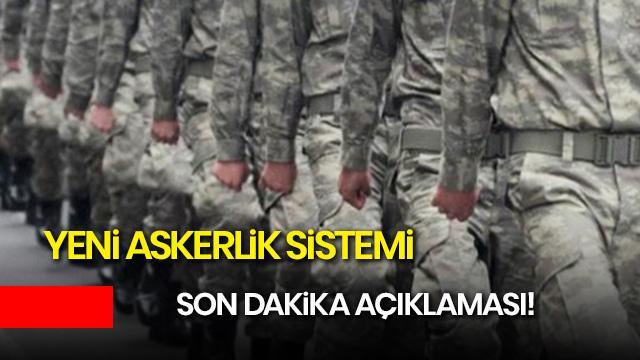 Yeni askerlik sistemi son dakika! Askerler ne zaman terhis olacak?