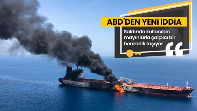 Tanker saldırılarında ABD'den yeni iddia