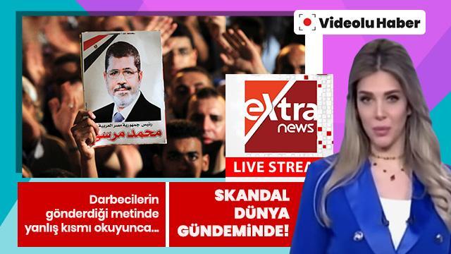 Darbeci Sisi'den Mısır televizyonlarına 'Mursi' metni! Sunucu böyle rezil oldu...
