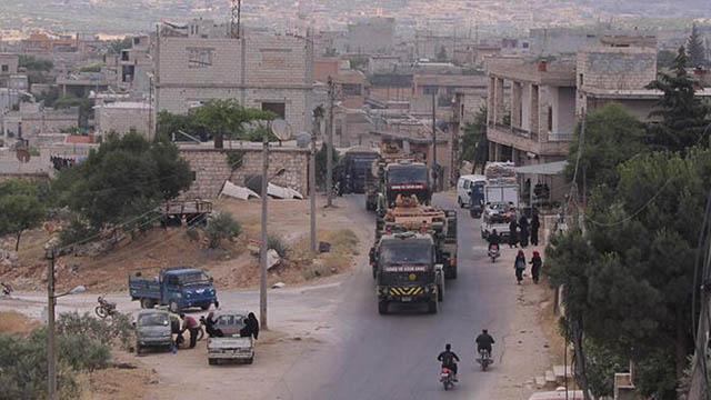 TSK İdlib'deki gözlem noktalarına takviye gönderdi