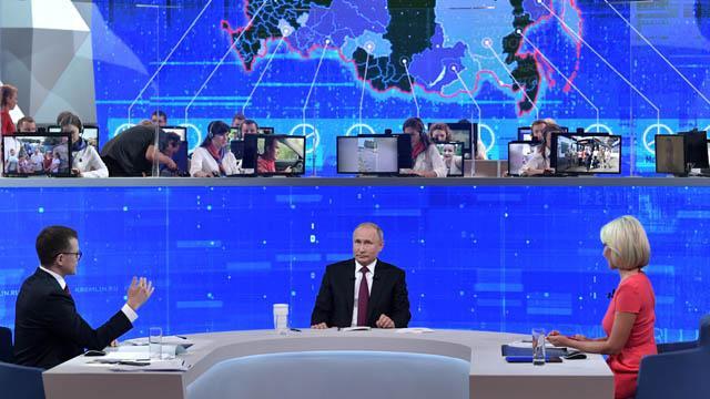 Rusya Devlet Baikanı Putin'in 'Direkt Hat' programına siber saldırı düzenlendi