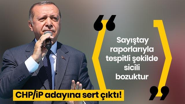 Başkan Erdoğan'dan İmamoğlu'na: Sayıştay raporlarıyla tespitli şekilde sicili bozuktur
