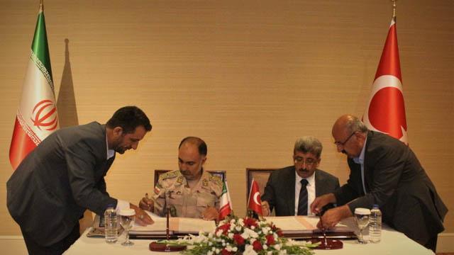 Türkiye-İran hudut güvenliği mutabakatı imzalandı