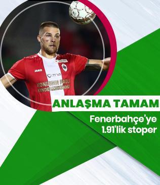 Fenerbahçe'nin Dino Arslanagic'le anlaştığı iddia edildi