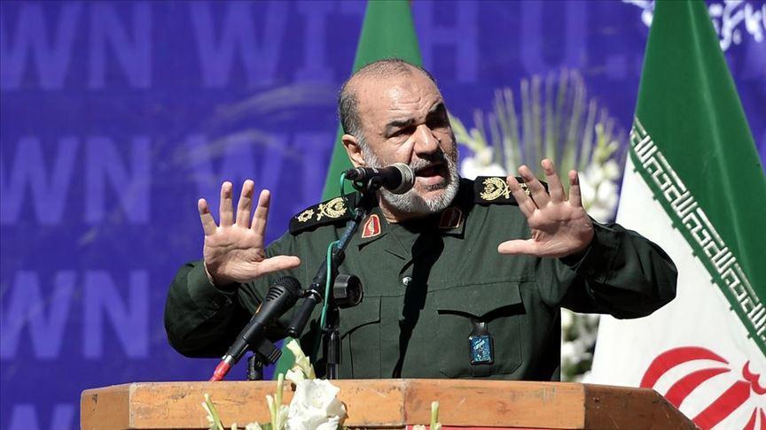 İran Devrim Muhafızları Genel Komutanı General Hüseyin Selami: ABD'ye ait İHA'yı düşürmek net bir mesajdır