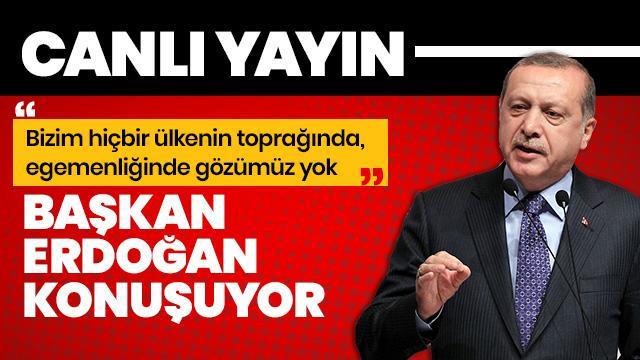 Başkan Erdoğan, İstanbul'da konuşuyor - Canlı izle