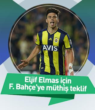 Tottenham, Elmas için Fenerbahçe'ye 19 milyon euro ve Janssen'i teklif etti