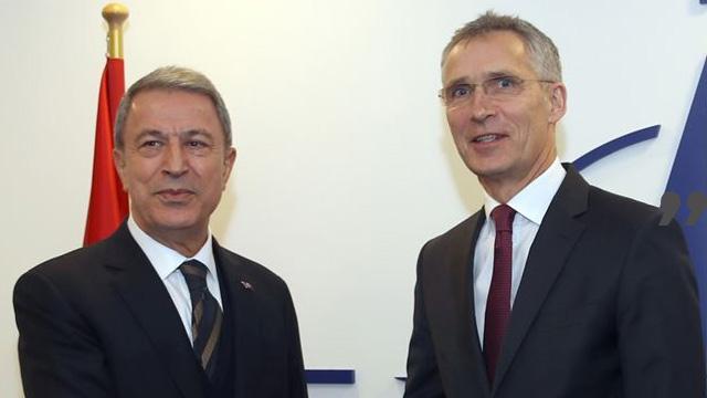 Akar, NATO Genel Sekreteri Stoltenberg ile telefonda görüştü