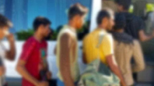 Ayvalık'ta 46 düzensiz göçmen yakalandı