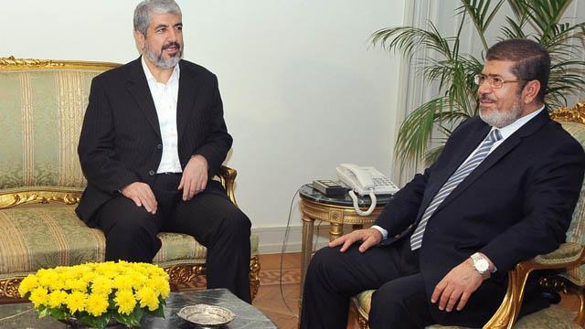 Eski Hamas yetkilisi Meşal, Mursi için taziye mesajı yayımladı