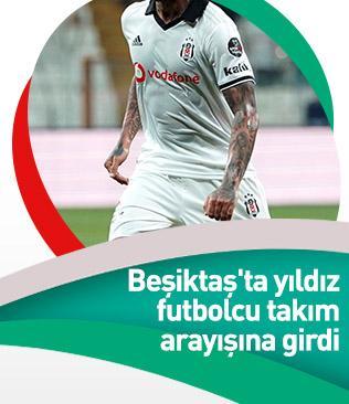 Beşiktaş'ta Quaresma takım arayışına girdi