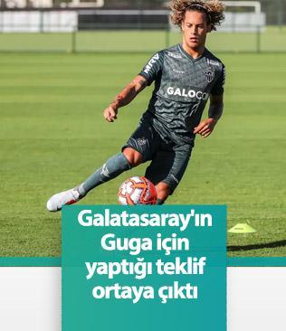 Galatasaray'ın Guga teklifi: Mariano artı 2 milyon Euro
