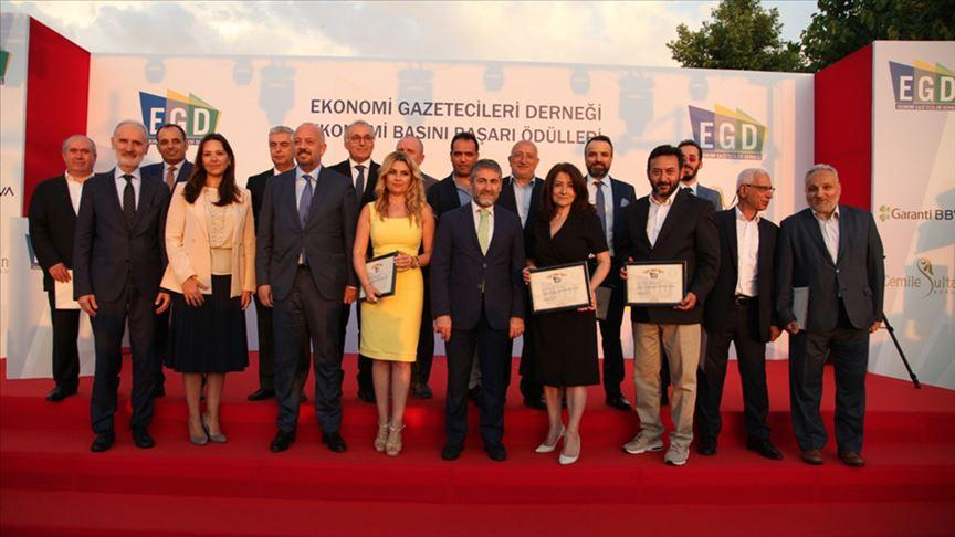 EGD 11. Ekonomi Basını Başarı Ödülleri sahiplerini buldu