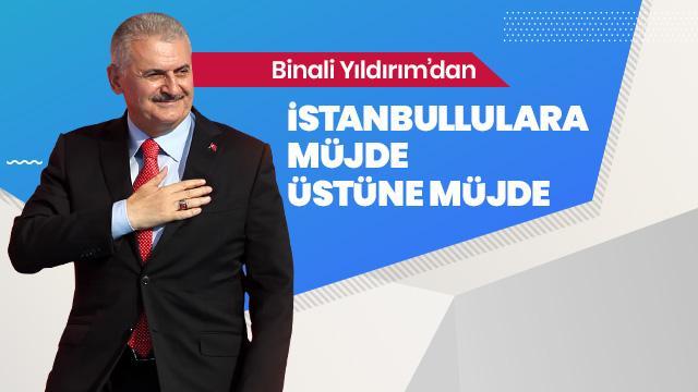 Binali Yıldırım'dan Mavi İstanbulkart müjdesi