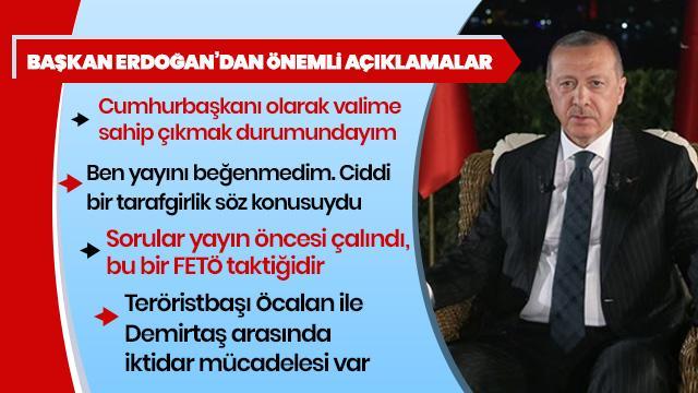 Başkan Erdoğan'dan teröristbaşı Öcalan'ın mektubuna yorum: Öcalan ile Demirtaş ve Kandil arasında iktidar mücadelesi var