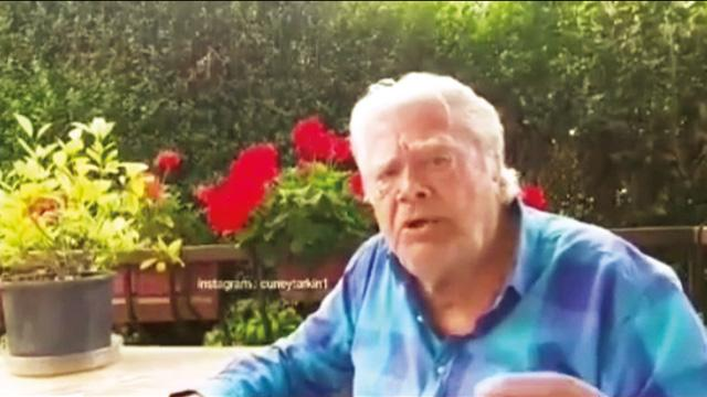 Cüneyt Arkın'dan S-400 videosu: Ey Amerika bizi ne sandın