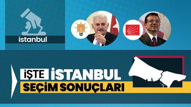 İşte ilçe ilçe İstanbul seçim sonuçları