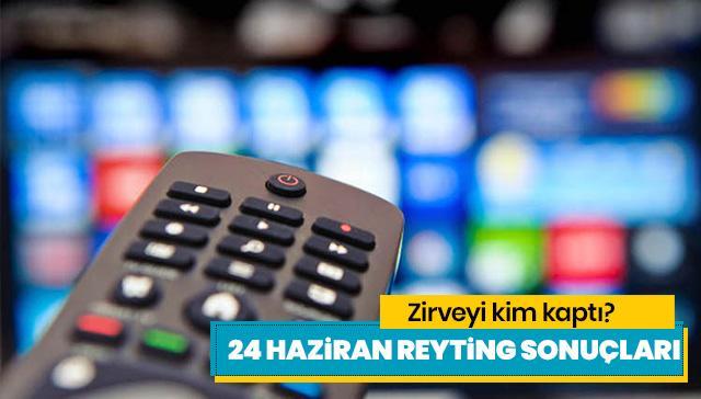 24 Haziran reyting sonuçları! Canevim mi, Tozkoparan mı, Survivor Türkiye - Yunanistan mı kim birinci?