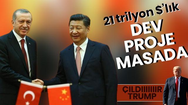 Çin'de 21 trilyon dolarlık yatırım merkezli görüşme